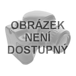 LACE - dámský holový průhledný deštník s krajkovým potiskem ČERNÝ
